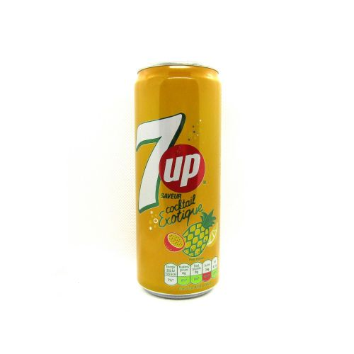 7UP  Cocktail Extique 33cl ( France )